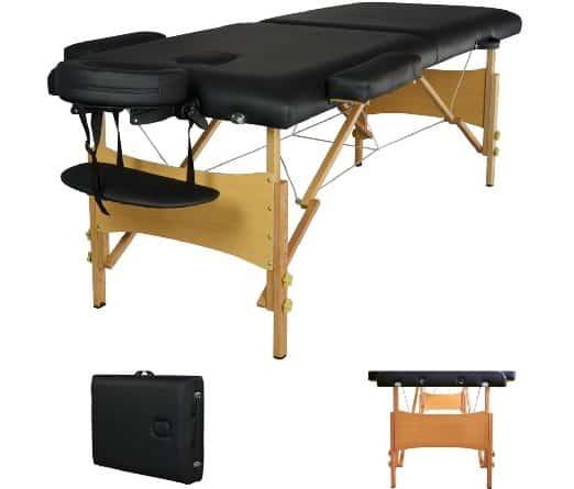 best massage table reviews 2018 comparison chart rh senseireviews com best massage table reviews best massage table heating pad