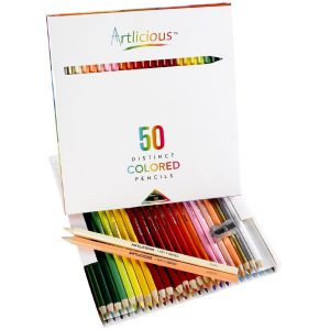artilicious-premium-50-count-colored-pencils