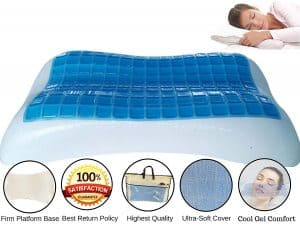 FOMI Cooling Gel Memory Foam Pillow