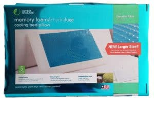 Memory Foam & Hydraluxe Cooling Bed Pillow