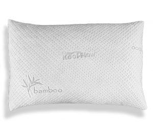 Slim Hypoallergenic Bamboo Pillow by Xtreme Comforts